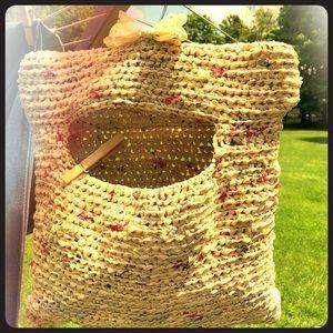 ♻️ Plarn clothespin bag ☀️